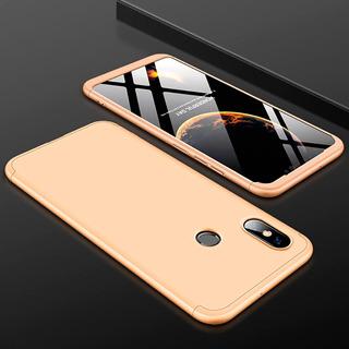 Kit Capa Case Proteção 360º Anti Impacto + Pelicula Vidro Temperado Xiaomi Redmi 6a Varias Cores