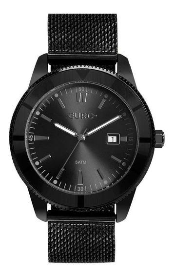 Relógio Euro Feminino Metal Trendy Preto Eu2115am/4p