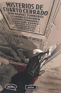 Misterios De Cuarto Cerrado - Ed. Pictus - Edgar Allan Poe