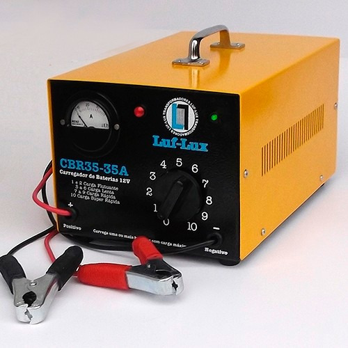Carregador De Baterias 35a Cbr35 Luf Lux