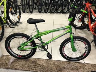 Bicicleta Dnz Luxo Infanto Juvenil Aro 20 - Verde