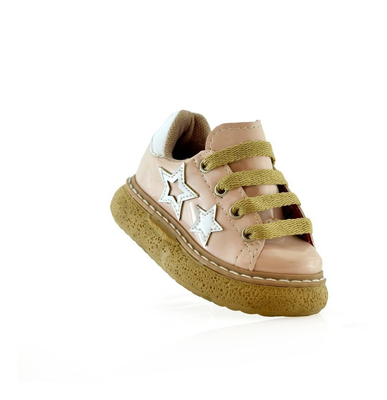 Zapato Moda Nena 27 Al 32 Charol 650-01 Elis Calzados