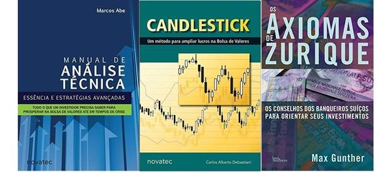 Manual De Análise Técnica + Candlestick + Axiomas De Zurique