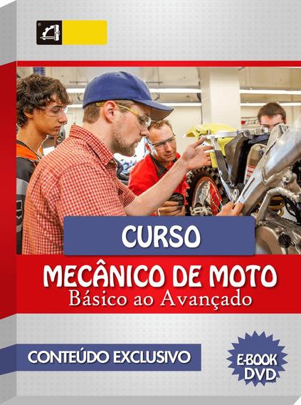 Curso Mecânica E Manutenção De Motos Em 56 Dvds Cod:91