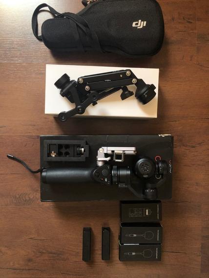Dji Osmo X3 C/ Z-axis + Suportes, Microfones E 2 Baterias