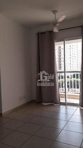 Apartamento Com 2 Dormitórios Para Alugar, 54 M² Por R$ 1.200/mês - República - Ribeirão Preto/sp - Ap3058