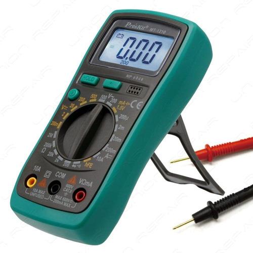 Tester Multimetro Digital Rsistencia Buzzer Hold Proskit