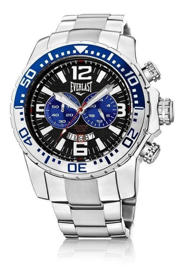 Relógio Cronografo Everlast E653 Prata