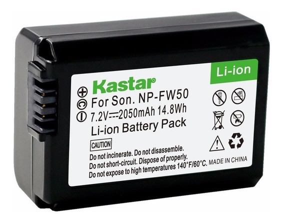Bateria Np-fw50 Sony Alpha 7 A7 A3000 A5000 A6000 Nex3 Nex7