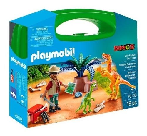 Playmobil Dinos 70108 - Maletin Dinosaruios