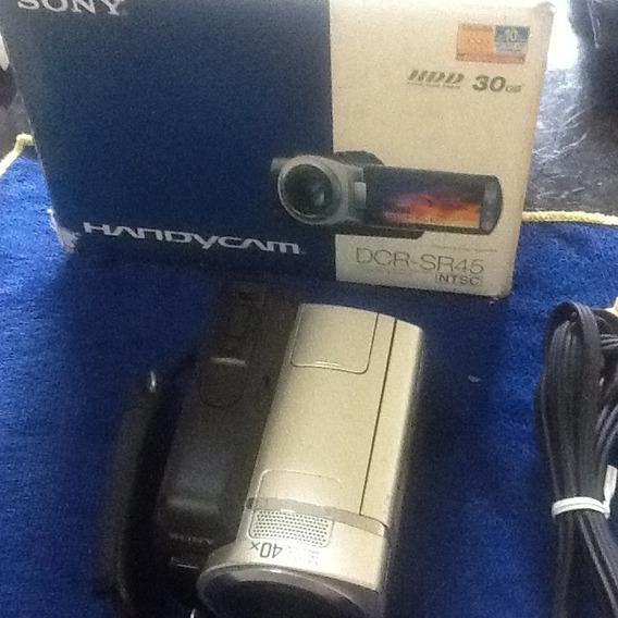 Câmera E Filmadora Sony Handycam Dcr-sr45