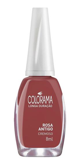 Esmalte Colorama 8ml Rosa Antigo