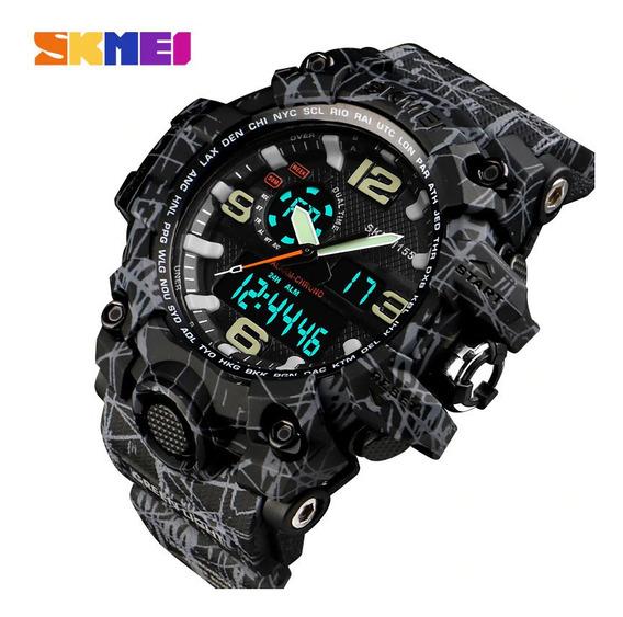 Relógio Masculino Skmei Esporte Militar 50m Prova Dágua 1155