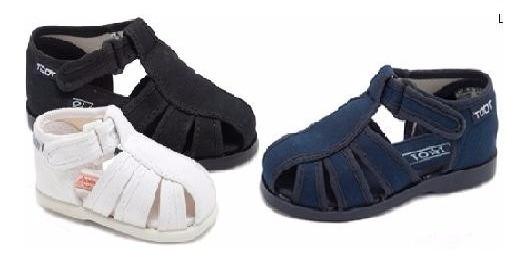 Sandalias Para Chicos Franciscanas Toot De Tela Super Oferta!!! Mundo Ukelele
