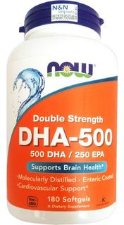 Dha500 Now 180 Softgel Dha500 Epa250 Qualidade Gmp