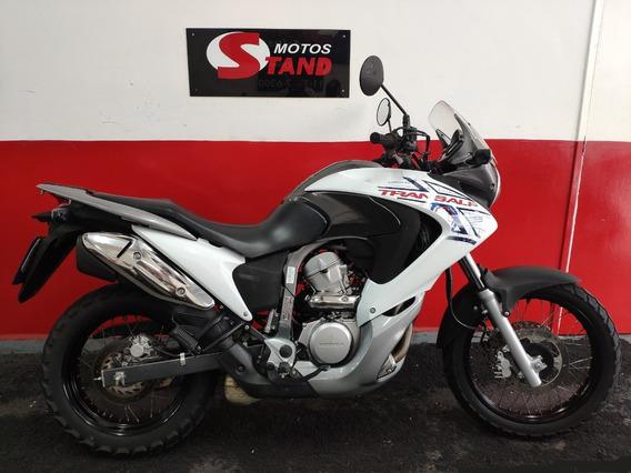 Honda Xl 700 V 700v Transalp 700 2012 Branca Branco