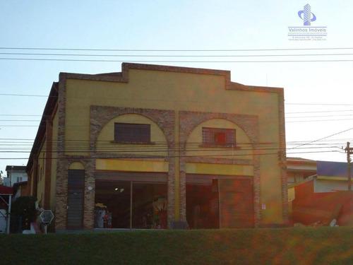 Prédio Comercial À Venda, Residencial Aquários, Vinhedo. - Pr0013