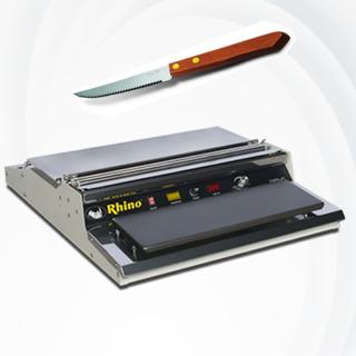 Kit Emplayadora Y Cuchillo Rhino Empa-55 Basculas Digitales