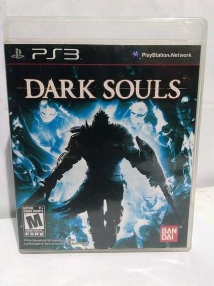 Jogo Dark Souls 1 Midia Física Completo Ps3 R$89,90