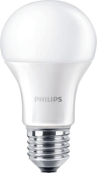 2 Focos Bombilla Led E26 Philips Essential 12watts Luz Fría