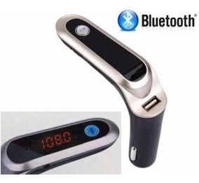 Transmissor Fm Veicular Bluetooth Usb Sd Mp3 Com Lcd