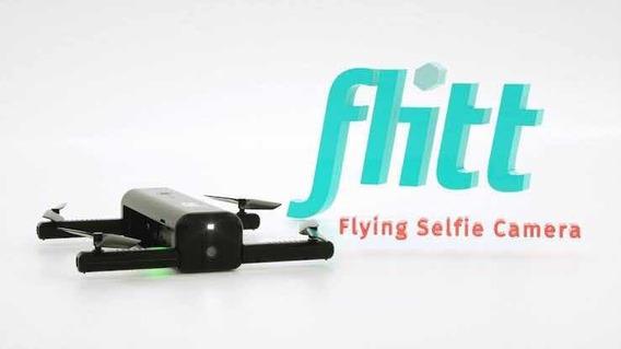 Drone Para Selfie Flitt Com Bateria Extra