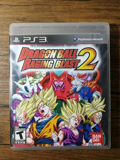 Dragon Ball Raging Blast 2 Playstation 3 Ps3 Excelente Estad