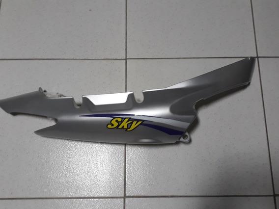Protecao Traseira Direita Prata - Jl-110-8 Sky -traxx