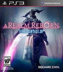 Jogo Novo Final Fantasy Xiv A Realm Reborn Pra Playstation 3