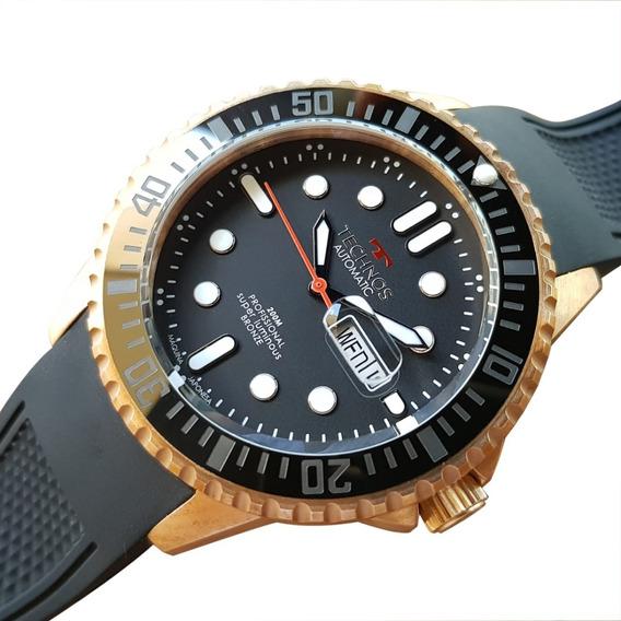 Relógio Technos Automático 8205oh/8p Bronze Ed Ltda