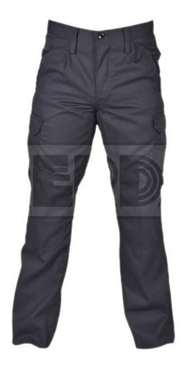 Pantalón Táctico Cargo Gabardina Azul Policía T:50-54 Envio
