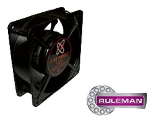 Turbina Cooler Fan Extractor 220v Ruleman 4 Pulgadas 120mm