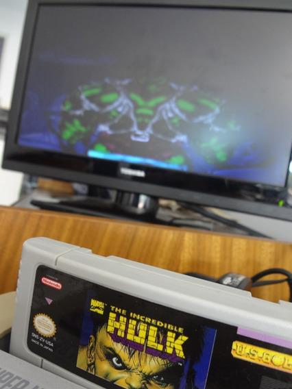 Fita Super Nintendo - The Incredible Hulk (trekus Vintage)