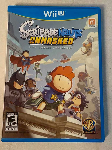 Jogo Scribblenauts Unmasked - A Dc Comics Adventure Wii U