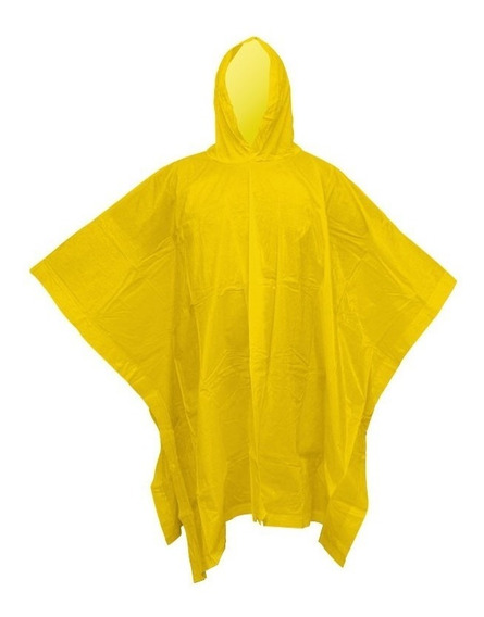 Poncho Amarillo Impermeable Rotter