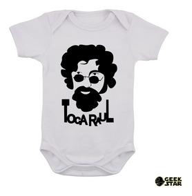 Body Infantil Raul Seixas Banda De Rock Bebê 2