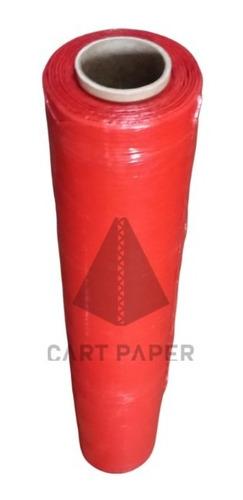 Imagen 1 de 3 de Rollo Alusa Film Rojo 220m / Cart Paper
