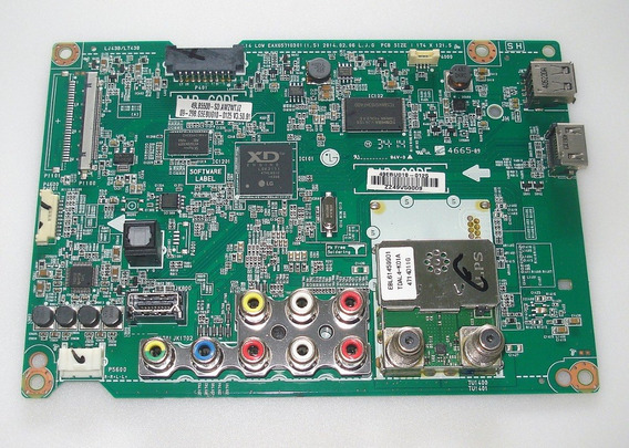 Placa Principal Tv Lg 42lb5500 49lb5500 Original Seminova