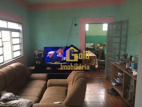 Casa Com 3 Dormitórios À Venda, 97 M² Por R$ 265.000 - Parque Ribeirão Preto - Ribeirão Preto/sp - Ca0715