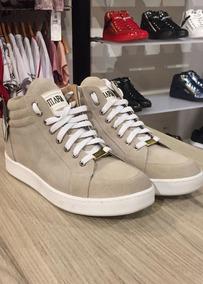 Tenis Masculino Sneaker La Mafia Nobuck Off White Lm102203