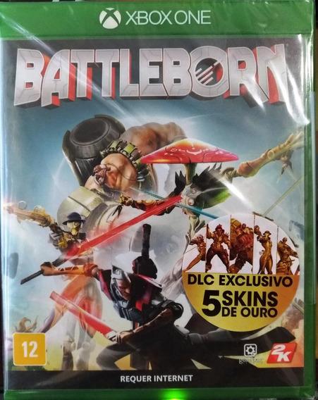 Battleborn Xbox One Lacrado Mídia Física Português Com Dlc