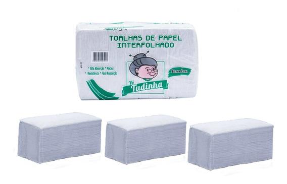 Papel Interfolha Branco Extra Luxo 15.000 Folhas Promoção!!!