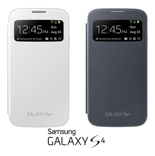 Imagem 1 de 4 de Capa Case Flip Cover S-view Original Samsung Galaxy S4 I9500