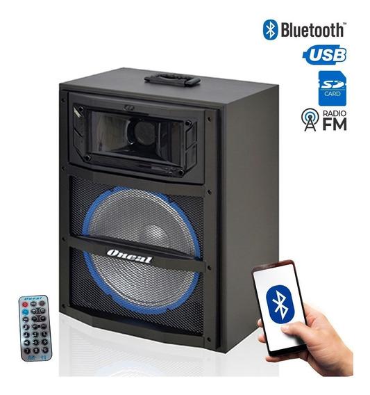 Caixa Multiuso Oneal 10 Ocm3910 120w Rms Bluetooth Usb Fm Sd