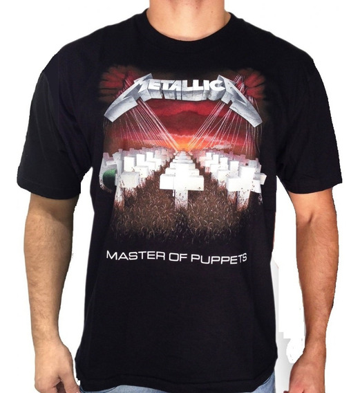 Camiseta Consulado Do Rock E709 Metallica Camisa Banda