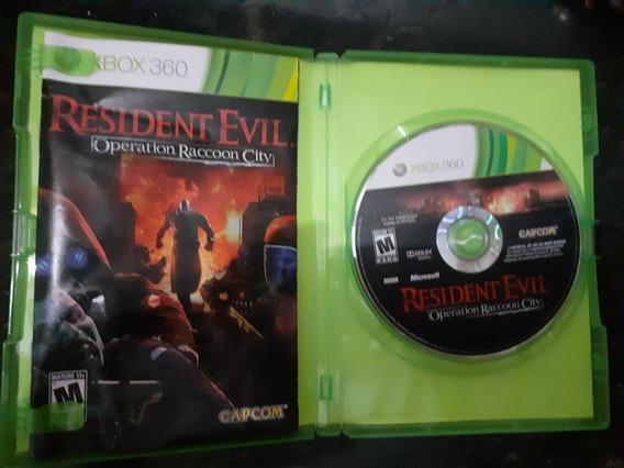 Resident Evil Operação Reccoon City Xbox 360 Original