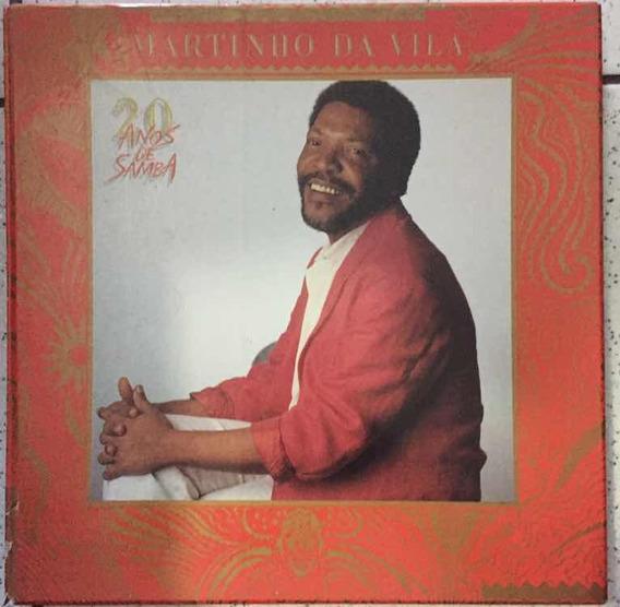 Lp Martinho Da Vila - 20 Anos De Samba - Box 5 Lps