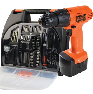 Taladro Inalambrico 12v Maletin Acc Black + Decker Cd121k100