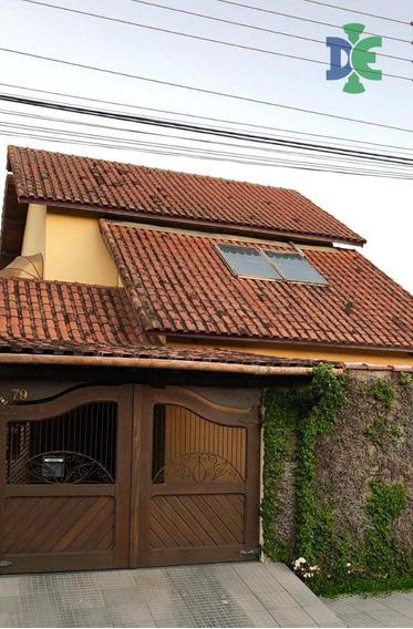 Sobrado Com 3 Dormitórios À Venda, 257 M² Por R$ 480.000 - Cidade Jardim - Jacareí/sp - So0003