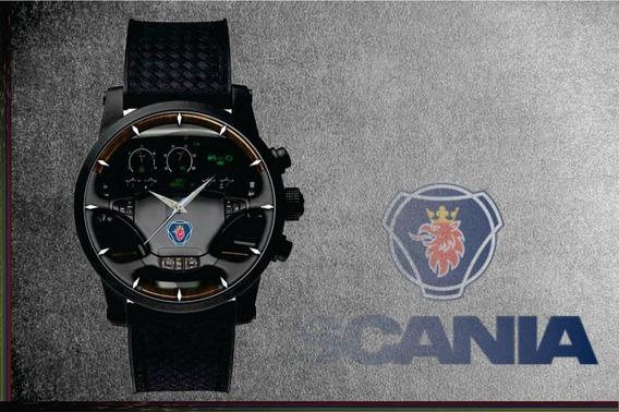 Relógio De Pulso Personalizado Painel Caminhão Cod.carp003
